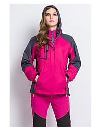 Per donna Giubbino da escursione Ompermeabile Tenere al caldo Antivento Fodera di vello Tuta da ginnastica per Sci Campeggio e hiking