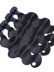 6A Unprocessed Brazilia Virgin Hair 12-28inch Natural Color Hair Weaves Brazilian Texture Body Wave hair weaves 100% Human Hair