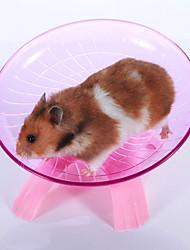 abordables -Rongeurs Hamster Plastique Roues d'Exercice Bleu Rose