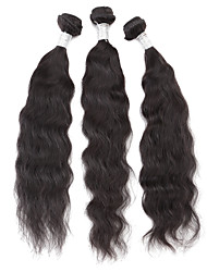 New  6A Grade 10'' 12'' 14'' 3Pcs/lot 300g 100g/pc Unprocessed Brazilian Virgin Human Hair Weave Natural Wave Remy  Human Hair High Quality