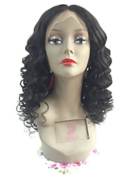 Fashionable and Factory price Deep Wave human hair Full Lace wig For Blank Woman Full Lace Wigs with Baby Hair