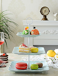 cheap -1 PCS 3 Layer Plastic Cake And Fruit Rack Kitchen Storage For Party