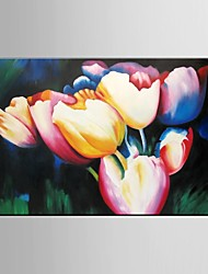 Oil Painting Flower Wall Art For LivingRoom Decor Hand Painted Canvas with Stretched Framed