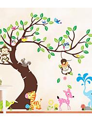 abordables -Animaux Mode Loisir Stickers muraux Autocollants avion Autocollants muraux décoratifs, Papier Décoration d'intérieur Calque Mural Mur