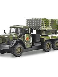 Aufziehbare Fahrzeuge Spielzeugautos Lastwagen Baustellenfahrzeuge Militärfahrzeuge Spielzeuge Auto LKW Metalllegierung Metal Gute