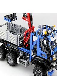 economico -Costruzioni per il regalo Costruzioni Modellino e gioco di costruzione Furgone Gel di silice 14 Anni e oltre Blu Giocattoli