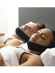 cheap -1Pcs Anti Snore Chin Strap Care Sleep Stop Snoring Belt Chin Jaw Supporter Apnea Belt For Men Women Sleeping Products