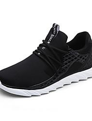 Недорогие -Для мужчин Спортивная обувь Для фитнеса Удобная обувь Ткань Осень Зима Атлетический Повседневные На эластичной ленте На плоской подошве