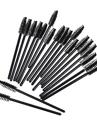YZIMENG® 50pcs in 1 Eyelash Comb Flat Eyelash Brush Dyeing Brush Synthetic Hair Professional Beauty Care Makeup Make Up for Eye