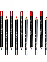 cheap -Lip Liners Pencil Coloured gloss Coverage Long Lasting Natural Daily