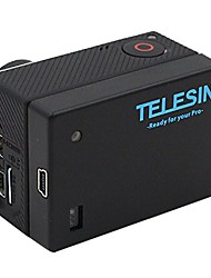 TELESIN Power Battery Bacpac for Gopro Extended Battery Bacpac with Backdoor Case for Hero4/3/3