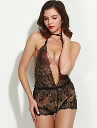 cheap -Women's Sexy Lace Lingerie Nightwear Solid Colored