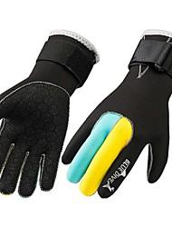 cheap -Bluedive Ski Gloves / Sports Gloves / Diving Gloves 3mm Neoprene / Nylon Full-finger Gloves Keep Warm, Wearproof, Anti-skidding Diving /