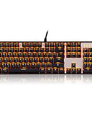 Mechanical keyboard USB Green axis Monochromatic backlit Motospeed
