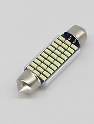 cheap -SO.K 10pcs T11 Car Light Bulbs 3 W SMD 3014 300 lm LED Interior Lights