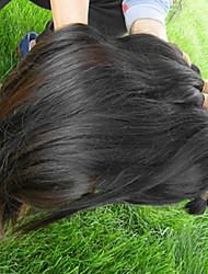 Недорогие -Не подвергавшиеся окрашиванию Массовая волос / плетение волос / Пряди натуральных волос Реми Для темнокожих женщин Прямой / Классика