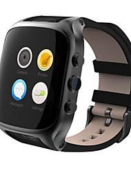 Smartwatch carte imperméable gps positionnement 3g wifi internet android 5.1 dual core 8g rom montre téléphone intelligent