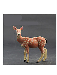 cheap -Action Figures & Stuffed Animals Toys Horse Lion Zebra Bear Deer Polar bear Toys Animals Novelty Simulation Pieces