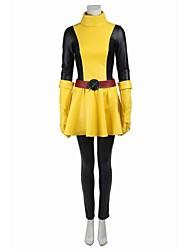 Superhéros Cosplay Costume de Cosplay Pour Halloween Costume de Soirée Bal Masqué Cosplay de Film Haut Jupe Ceinture Collier Plus