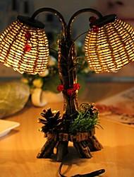 1pc conduit multicolore cadeau d'anniversaire de vacances lampe de nuit de l'article tressées de paille multifonctionnel newfangled