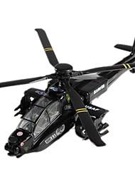 Недорогие -Наборы для моделирования Боец Вертолет Выдвижной Классический и неустаревающий Изысканный и современный Мальчики Девочки Игрушки Подарок / Металл