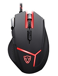 cheap -motospeed Wired Gaming Mouse DPI Adjustable Backlit Programmable 4000