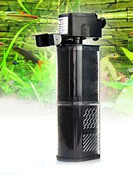 Недорогие -Аквариумы Фильтры Регулируется / Энергосберегающие пластик 220-240 V V пластик