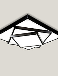 cheap -52cm Geometric Pattern Design Modern Style LED Ceiling Lamp Metal Flush Mount Living Room Bedroom
