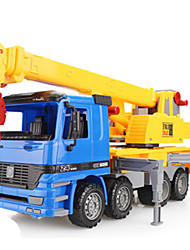 cheap -Pull Back Vehicles Pull Back Car/Inertia Car Construction Vehicle Crane Toys Novelty Simulation Car Plastic Metal Classic & Timeless