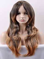 cheap -Women Synthetic Wig Capless Long Very Long Loose Wave Black/Honey Blonde Natural Wig Costume Wigs