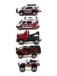 Недорогие -Playsets автомобиля Машина скорой помощи Автомобиль Классический и неустаревающий Изысканный и современный Мальчики Девочки Игрушки Подарок / Металл