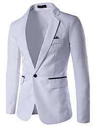 cheap -Men's Business Slim Blazer - Color Block