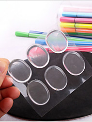 1Pcs/6 Stickers Women Ladies Silicone Gel Shoe Insole Inserts Pad