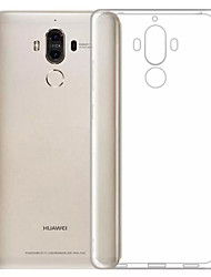Per A prova di sporco Ultra sottile Transparente Custodia Custodia posteriore Custodia Tinta unita Morbido TPU per HuaweiHuawei Honor 6X