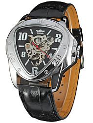 Men's Sport Watch Dress Watch Fashion Watch Wrist watch Mechanical Watch Automatic self-winding Calendar Genuine Leather Band Charm