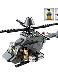 cheap -GUDI Building Blocks 179 pcs Tank Plane / Aircraft Helicopter Professional Level Cool Helicopter Boys' Girls' Toy Gift
