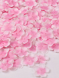 100 Slice Silk Sakura petal Wedding Site Layout Artificial Flowers