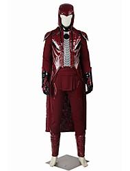 Superhéros Cosplay Costume de Cosplay Pour Halloween Costume de Soirée Bal Masqué Cosplay de Film Manteau Pantalon Gants Plus