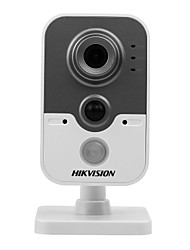 abordables -Hikvision® ds-2cd2452f-iw cámara de cubo de red 5.0mp ir-cut 128 poe wifi detección de movimiento alarma l / o
