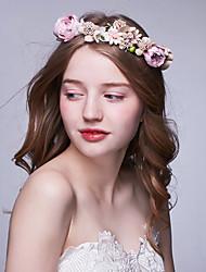 Недорогие -ткань венки головной убор свадебная вечеринка элегантный классический женский стиль