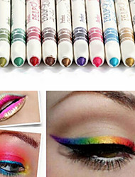 cheap -12Pcs/Lot  12 Color Eyeliner Pencil Eye Shadow Pen Eye Liner Lip Liner Eye Shadow Pencil Pen Waterproof