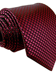 Недорогие -мужская марочная милая партия работа случайный районный галстук твердый жаккард, основной