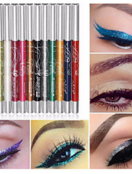 12 Colors Professional Make Up Eye Shadow Lip Liner Eyebrow Glitter Eyeshadow Eyeliner Pencil Pen Cosmetic Makeup Set Kit Tools