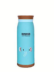 Dessin Animé Articles pour boire, 500 ml Retenant la chaleur Athermiques Acier inoxydable Thé jus Vacuum Cup Tumbler