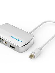 abordables -2 Mini Displayport HDMI 1.4 / VGA 0.15m (0.5Ft)
