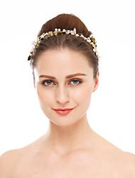 baratos -cristal imitação pérola rhinestone headbands headpiece estilo elegante