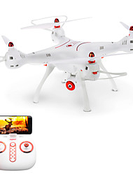 cheap -RC Drone X8SW 4CH 6 Axis 2.4G With Camera RC Quadcopter FPV LED Lighting One Key To Auto-Return Auto-Takeoff Failsafe Headless Mode