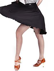 preiswerte -Latein-Tanz Unten Damen Training Samt Milchfieber Muster / Druck Normal Rock