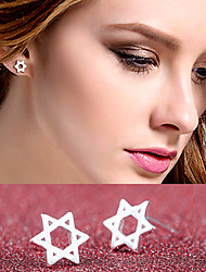 cheap -Stud Earrings Jewelry Silver Plated Alloy Jewelry For Wedding Party Daily Casual