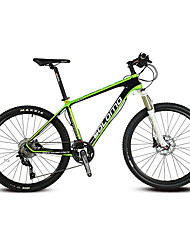 Mountain Bike Cycling 30 Speed 26 Inch/700CC 44mm Unisex Adult SHIMANO Oil Disc Brake Suspension Fork Carbon Ordinary/Standard Aluminium
